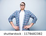 low angle top view portrait of...   Shutterstock . vector #1178682382