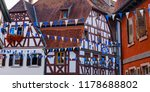 oktoberfest decoration in the... | Shutterstock . vector #1178688802