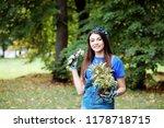 portrait of beautiful woman in... | Shutterstock . vector #1178718715