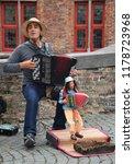 bruges  belgium   august 25 ... | Shutterstock . vector #1178723968