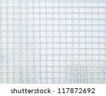 Glass Block Wall Closeup For...