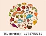 vector illustration of... | Shutterstock .eps vector #1178750152