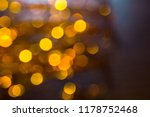abstract christmas bokeh... | Shutterstock . vector #1178752468