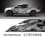 car decal wrap  truck and cargo ... | Shutterstock .eps vector #1178755858