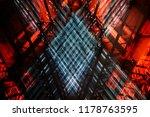 double exposure photo of an... | Shutterstock . vector #1178763595