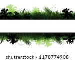 jungle vector landscape | Shutterstock .eps vector #1178774908