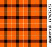 halloween tartan plaid.... | Shutterstock .eps vector #1178782672