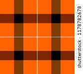 halloween tartan plaid.... | Shutterstock .eps vector #1178782678