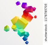 abstract colorful composition... | Shutterstock .eps vector #1178785705