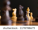chess photographed on a... | Shutterstock . vector #1178788675