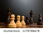 chess photographed on a...   Shutterstock . vector #1178788678