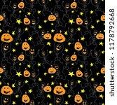 happy creepy dancing... | Shutterstock .eps vector #1178792668