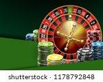 illustration online poker... | Shutterstock . vector #1178792848