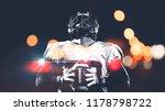 portrait of confident american... | Shutterstock . vector #1178798722
