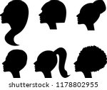 stencils for girls with... | Shutterstock .eps vector #1178802955