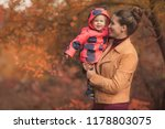 happy family mother and child... | Shutterstock . vector #1178803075
