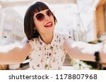 fascinating caucasian woman... | Shutterstock . vector #1178807968