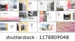travel concept presentations... | Shutterstock .eps vector #1178809048