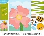 education paper game for... | Shutterstock .eps vector #1178833045