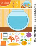 education paper game for... | Shutterstock .eps vector #1178833048