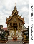 wat buppharam temple on tha... | Shutterstock . vector #1178833288