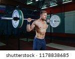 muscular fitness man preparing...   Shutterstock . vector #1178838685