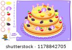 educational page for kids. how... | Shutterstock .eps vector #1178842705