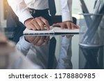 businessman working in modern... | Shutterstock . vector #1178880985