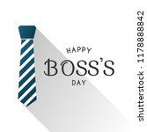 happy boss's day design  vector ... | Shutterstock .eps vector #1178888842