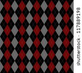 Seamless Vector Argyle Pattern...