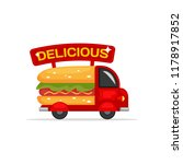 delicious street food snack hot ...   Shutterstock .eps vector #1178917852