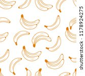 banana fruit seamless pattern... | Shutterstock .eps vector #1178924275
