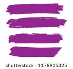 collection of hand drawn pink... | Shutterstock .eps vector #1178925325