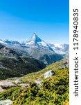 beautiful mountain landscape... | Shutterstock . vector #1178940835