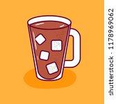vector illustration coffee in... | Shutterstock .eps vector #1178969062