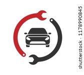 car service logo | Shutterstock .eps vector #1178990845