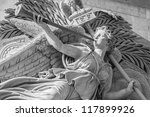 Statue Of Angel On The Arc De...