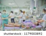 nurse and team nursing care to...   Shutterstock . vector #1179003892