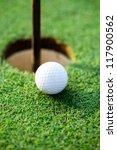 Golf Ball Next Hole