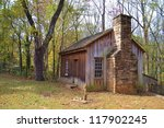 Little Old Cabin In The Country