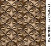 art deco pattern. seamless... | Shutterstock .eps vector #1179036715