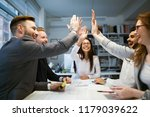 business people working... | Shutterstock . vector #1179039622