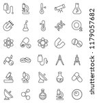 thin line vector icon set  ... | Shutterstock .eps vector #1179057682