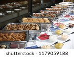 catering food  event plate... | Shutterstock . vector #1179059188