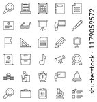 thin line vector icon set  ... | Shutterstock .eps vector #1179059572