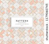 scandinavian seamless pattern | Shutterstock .eps vector #1179060745