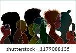 vector black silhouette of... | Shutterstock .eps vector #1179088135