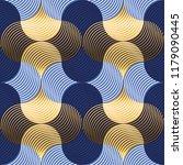 retro vibes luxury water waves... | Shutterstock .eps vector #1179090445