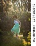 beautiful girl posing on the... | Shutterstock . vector #1179103942
