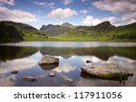 Lake And Mountains At Blea Tar...